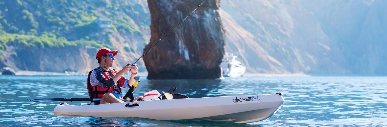 Orcafin kayak.control